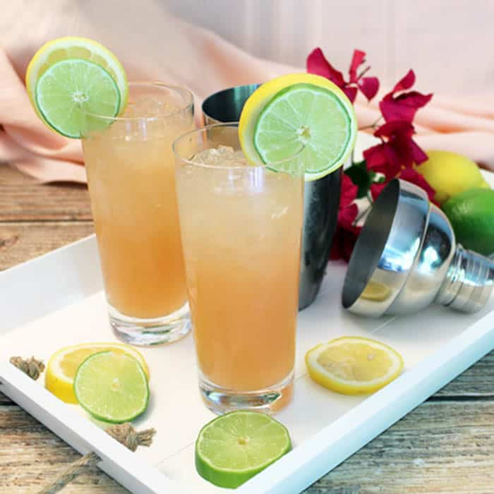Sparkling Tequila Cocktail - A Refreshing Cooler