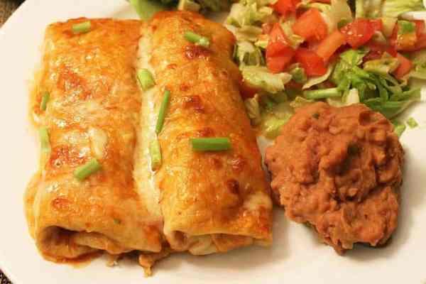 Chicken Enchiladas 2   2 Cookin Mamas