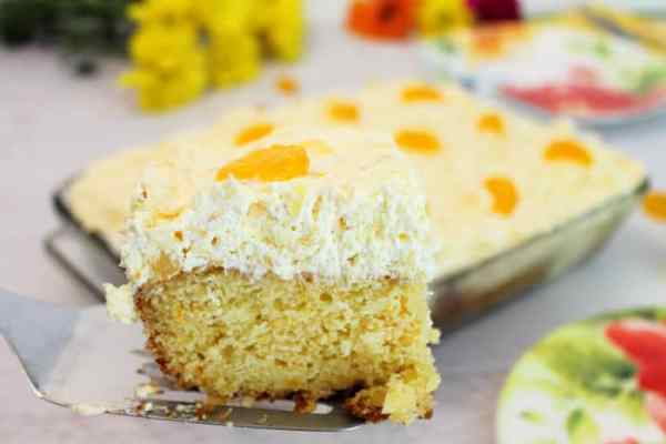 Mandarin Orange Cake 4 | 2 Cookin Mamas