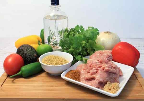 Chicken Burger ingredients | 2 Cookin Mamas