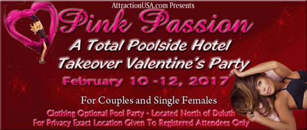 Clothing optional, valentines, swingers, party, camping