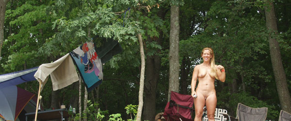 Clothing Optional Camping