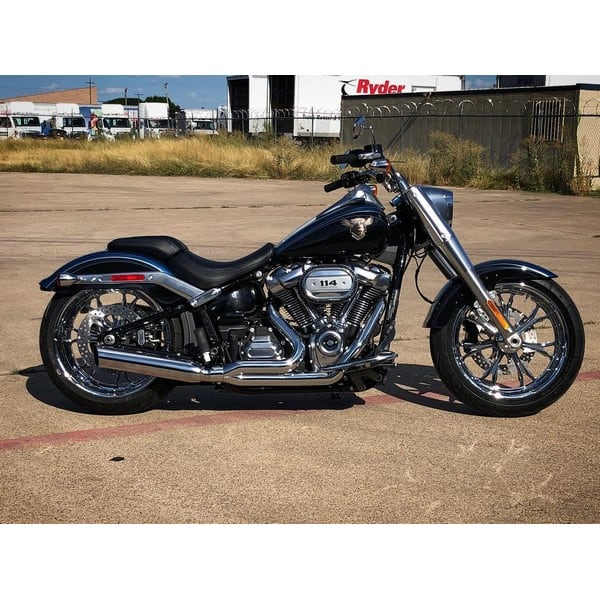 d d low cat 2 1 exhaust for softail models