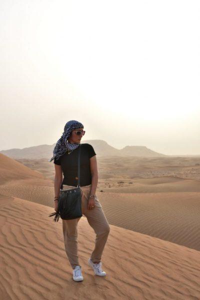 Look a Dubai per il safari