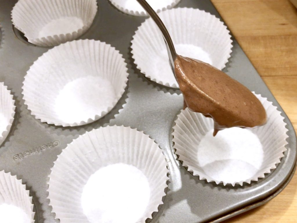 Making Chocolate Mint Cupcakes With Sophia