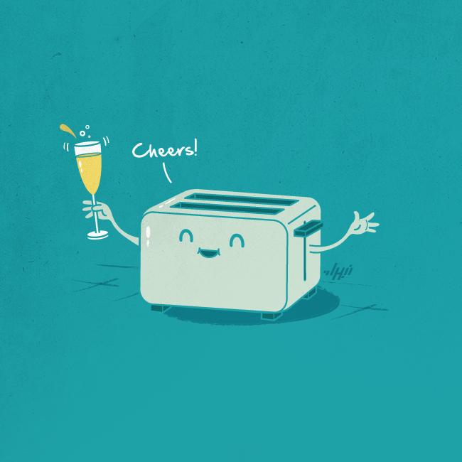Image result for a toast artwork