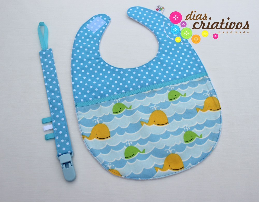 Babetes e Fitas Chucha / Baby bibs and Pacifier holders (2/5)