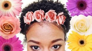 Flower headband1