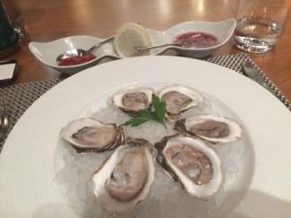 maison boulud oysters