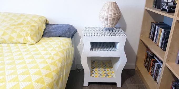 kit pour fabriquer un meuble en carton