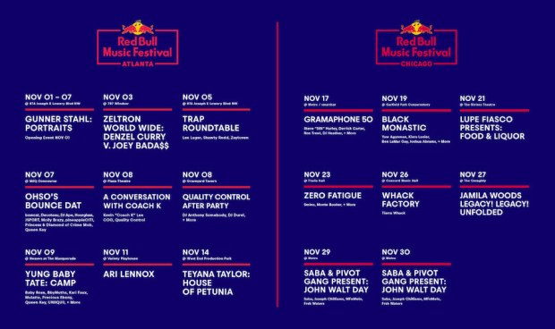 Red Bull Announces TWO New Music Festivals
