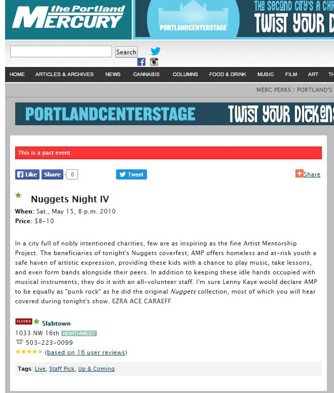Press 2010 The Portland Mercury