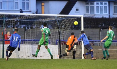 Ahmet nods home the 3rd for The Blues