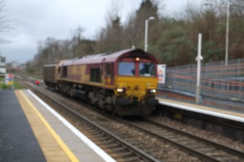66xxx at Upper Holloway - a focussing disaster!