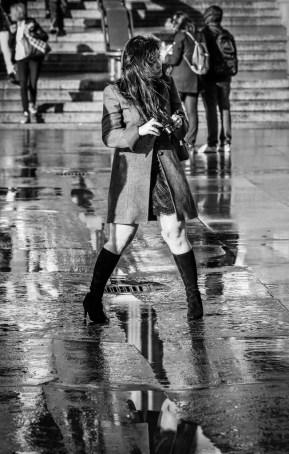 Windswept Photographer