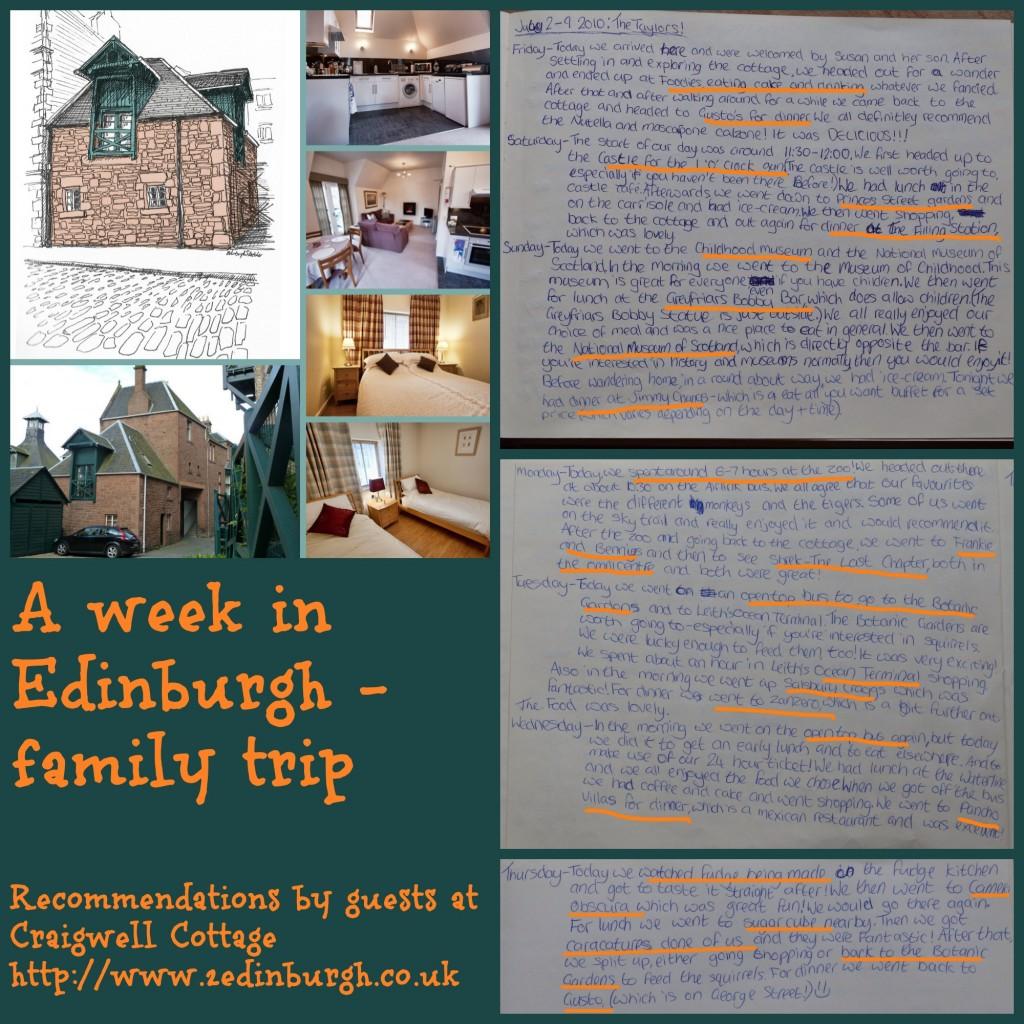 Family Restaurants Near Edinburgh Zoo