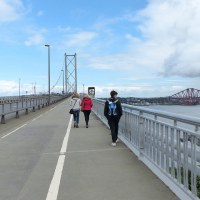 Walking the Forth Road Bridge