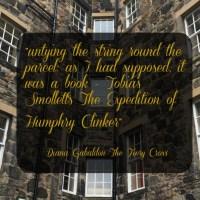 Tobias Smollett - Outlander Connections in Edinburgh