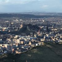 Edinburgh Old Town and Arthur's Seat
