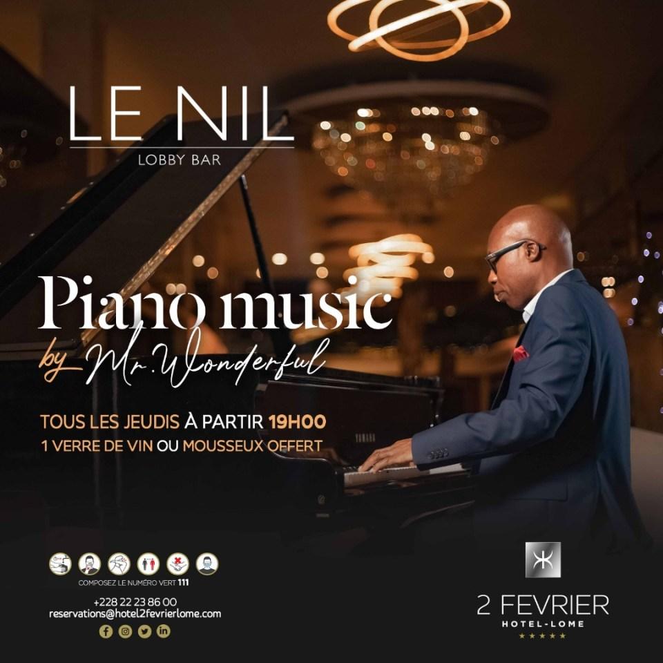 Piano Le Nil