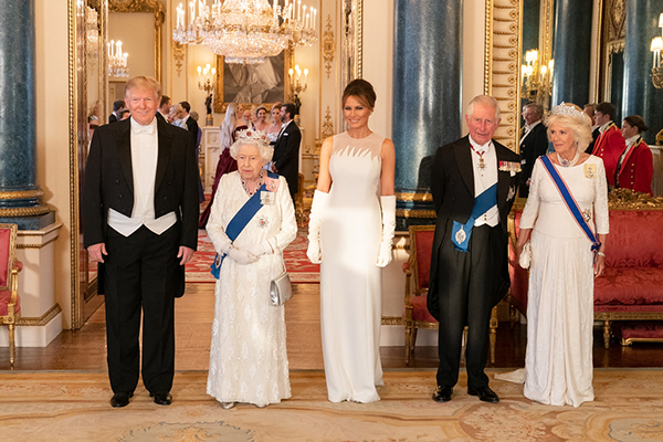 Melania Trump, First Lady, Fashion, Trump, UK, Queen Elizabeth, Prince Charles