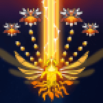 Sky Champ Galaxy Space Shooter 6.2.1 APK MODs Unlimited Money Hack Download for android