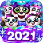 Bubble Shooter 3 Panda 1.1.55 APK MODs Unlimited Money Hack Download for android