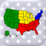 50 US States Map Capitals Flags – American Quiz 3.3.0 APK MODs Unlimited Money Hack Download for android