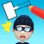 Draw Hit Kick the Robber 0.1.5 APK MODs Unlimited Money Hack Download for android