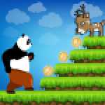 Forest Panda Run 1.3 APK MODs Unlimited Money Hack Download for android