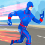 Grand Light Speed Robot Hero City Rescue Mission 2.0 APK MODs Unlimited Money Hack Download for android