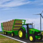 Heavy Tractor Trolley Cargo Sim Farming Game 2020 1.0 APK MODs Unlimited Money Hack Download for android