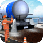 Mega City Road Construction Machine Operator Game 3.9 APK MODs Unlimited Money Hack Download for android