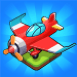 Merge Airplane 2 Plane Clicker Tycoon 2.3.2 APK MODs Unlimited Money Hack Download for android