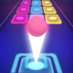 Beat Ball Dancing Color Hop 1.2 APK MODs Unlimited Money Hack Download for android