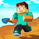 Craft Runner – Miner Rush Building and Crafting APK MODs Unlimited Money Hack Download for android