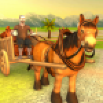 Horse Cart Offroad Farming Transport Simulator APK MODs Unlimited Money Hack Download for android