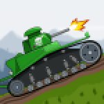 Tank Battle War 2d game free APK MODs Unlimited Money Hack Download for android