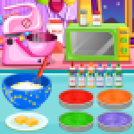 Cooking Rainbow Birthday Cake 4.0.646 APK MODs Unlimited Money Hack Download for android