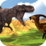 Hungry T-Rex Island Dinosaur Hunt 0.7 APK MODs Unlimited Money Hack Download for android