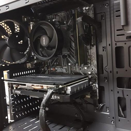 Basis gaming PC zonder LED