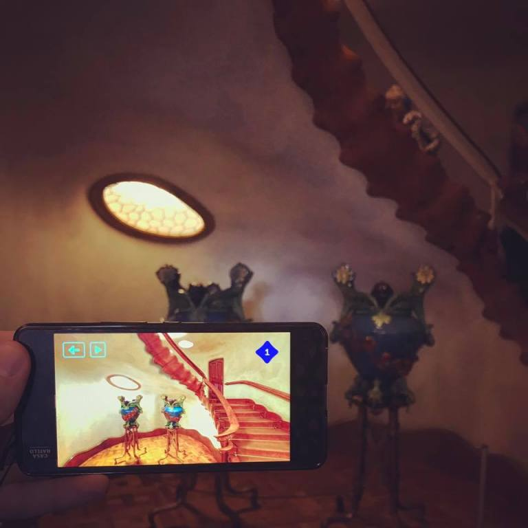 Gaudi and Augmented Reality. A cheap smartphone with AR apps was our friendly guide at Casa Batlló. Technology is changing the way we travel, adding new layers of experience to places with centuries of history. As virtual merges with real, how will the city design and architecture evolve?
