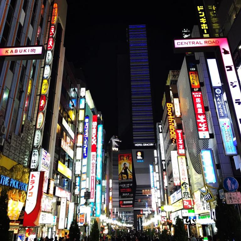 Since the first neon bulb was produced in 1910, street advertising has never been the same. Business owners quickly sized the opportunity to woo customers with bright signs over their stores. In Japan, the streets covered in vivid fluorescence became an iconic part of the city landscape. The fist neon ad in Tokyo went up in 1957 to announce the name of the new tech upstart Sony. Soon, the skyscrapers of Ginza, Shinjuku and Shibuya were ablaze with colours. Today, the bright lights of Tokyo inspire travelers and futurists, photographers and urban planners. They are the new vibrant art of the modern urban life.