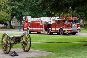 Firetruck at Fort Vancouver, Washington
