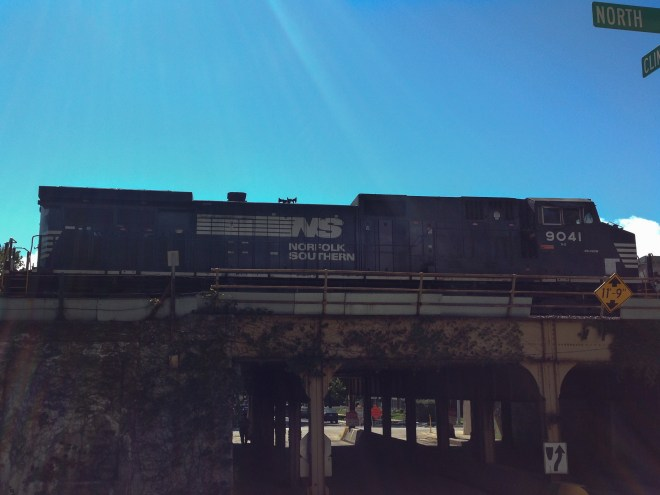 Norfolk Southern in Oak Park, Illinois