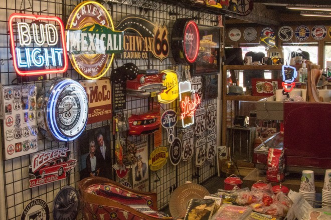 Souvenirs at the Highway Trading Company in Hesperia, California - north of Victorville