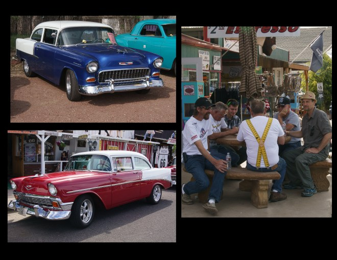 Car Show and car Fun Run weekend in Seligman, Arizona