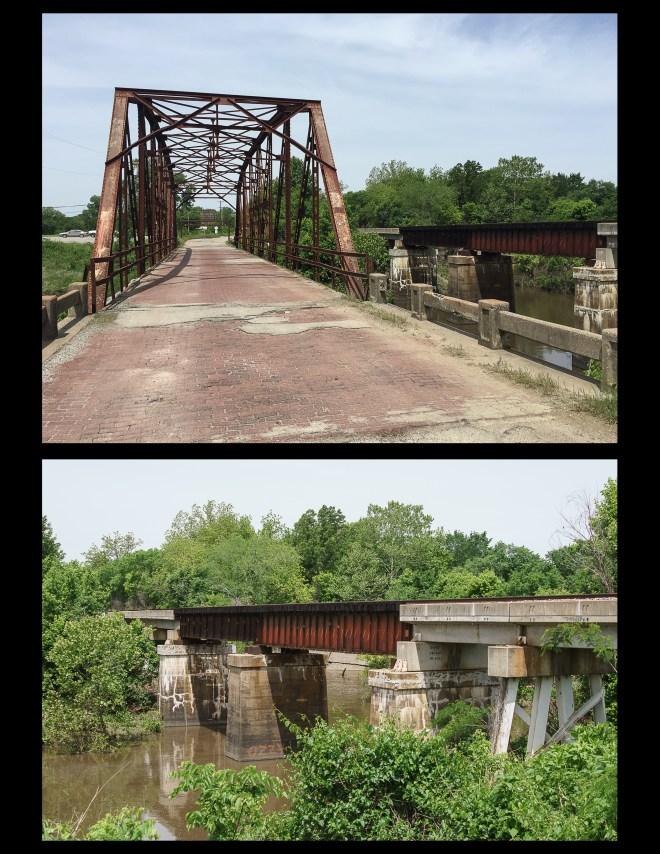 Bridges on the Ozark Trail in Sapulpa, Oklahoma