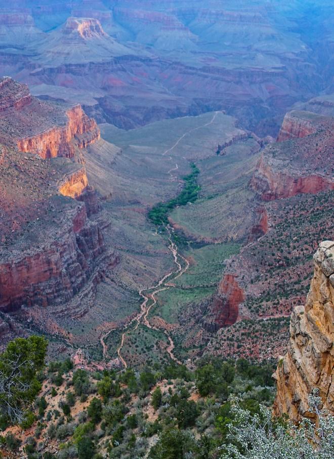 Morning at the Grand Canyon (5:57 AM)