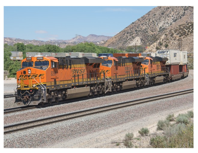 Route 66 - BNSF at Cajon Pass